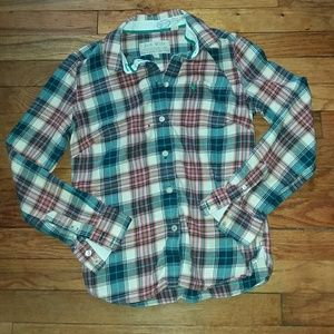 Jack wills plaid top